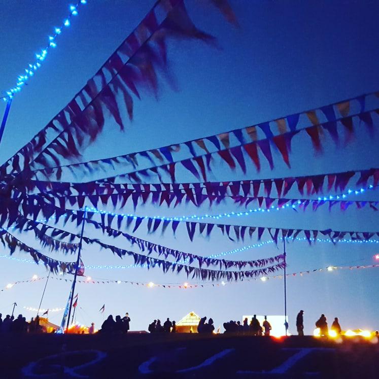 festival, equinox, summer, camping